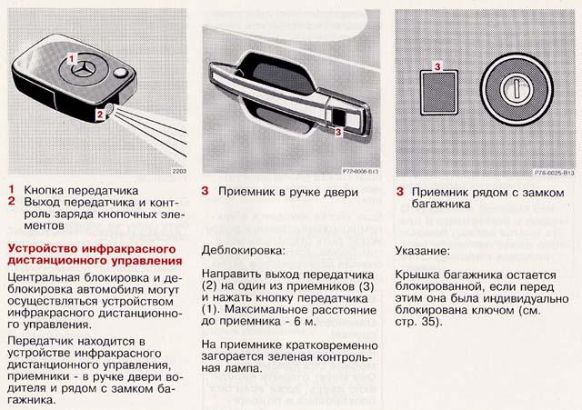 Ключ зажигания к W124 [Архив]